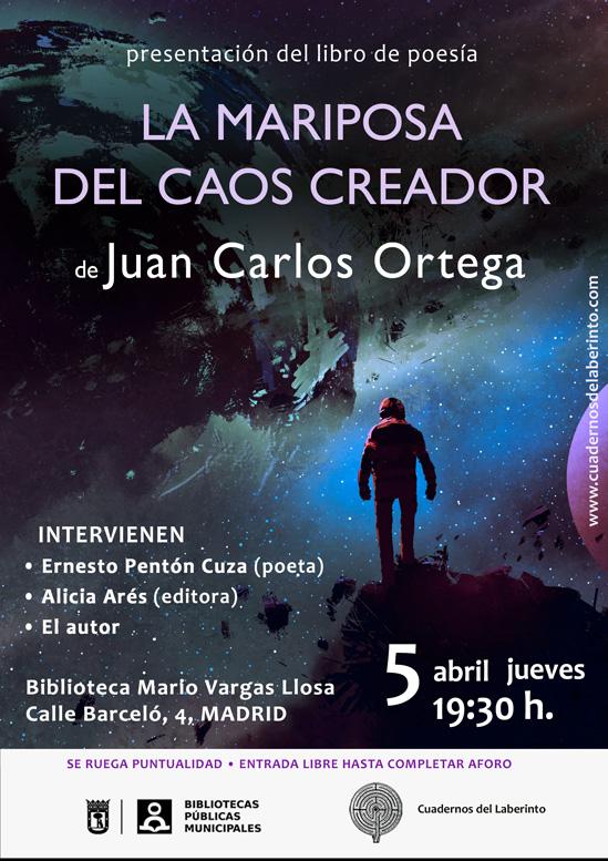 Juan carlos ortega la mariposa del caos creador for Espejo y reflejo del caos al orden pdf