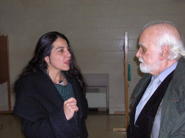 Alicia Arés y Francisco Nieva